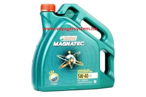CASTROL MAGNATEC 5w40 4 liter Diesel
