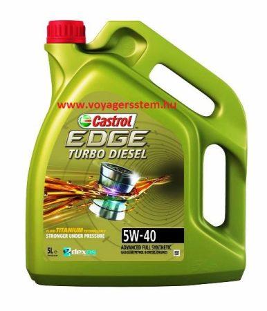 CASTROL  EDGE TD TITANIUM 5w40  5 Liter