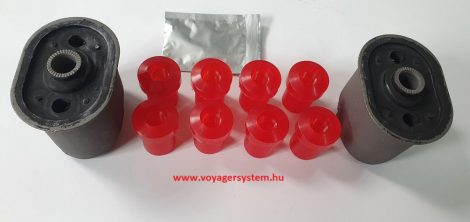Erősített laprugószilent készlet (Poliuretán)   ES-GS