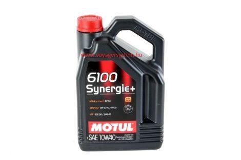 MOTUL 6100 SYNERGIE+ 10W40 4 Liter