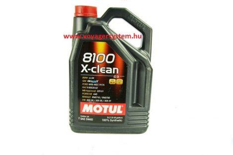 MOTUL 8100 X-CLEAN 5W40 C3 5 Liter