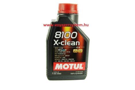 MOTUL 8100 X-CLEAN 5W40 C3 1 Liter