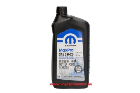 MOPAR 5W20 MAX PRO motorolaj 1 liter CHRYSLER