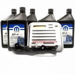 MOPAR ATF 4+ 5L Váltóolaj cserecsomag, szűrővel ES-GS- RG