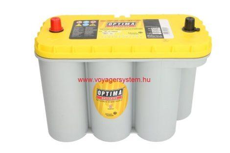 Optima munka akkumulátor  75AH  325x165x238  26kg  (körcellás)  1000A indító áram