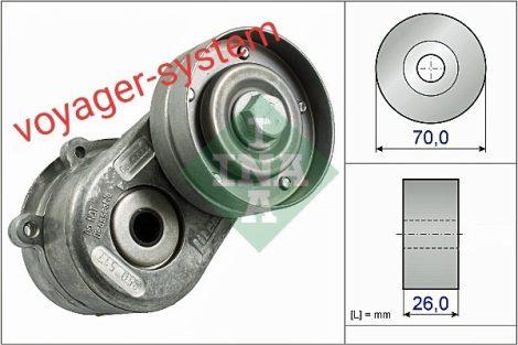 Szíjfeszítő INA 2.5-2.8 CRD   RG