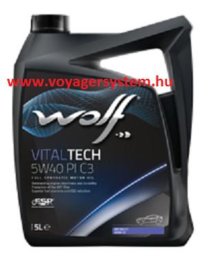 WOLF VITALTECH 5W40 PI C3 5 Liter